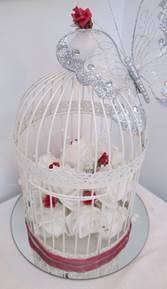 bird cage red