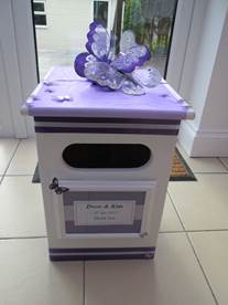 purple post box