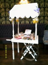 vestry candy cart