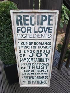 sign recipe