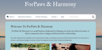 The Launch of ForPaws & Harmony!