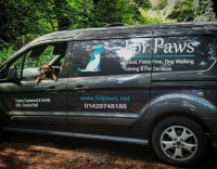 ForPaws Van for Dog Walking in Guildford