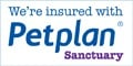 ForPaws are insured with Petplan Sanctuary