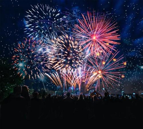 People-fireworks