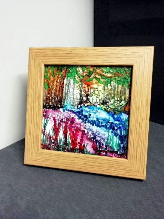 AL Framed Woodland Carpet