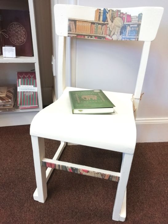 Childs chair by Fishing for compliments