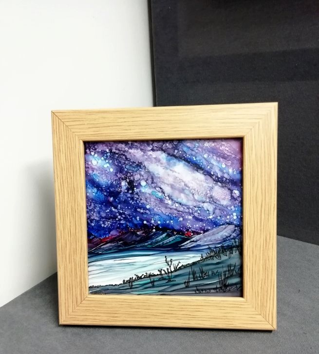 AL Framed Galloway's Dark Skies