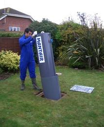 Septic Tank Conversion Unit