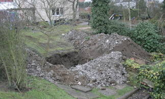 Excavation for Septic Tank