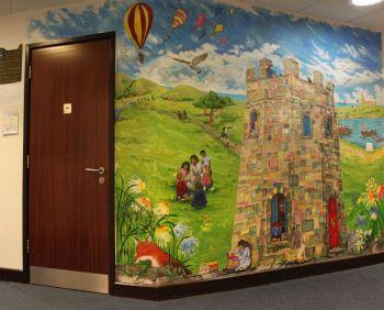 TKS mural