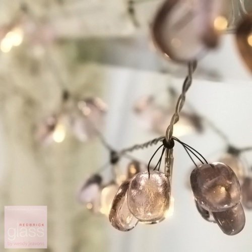 'Blossom' glass fairy lights