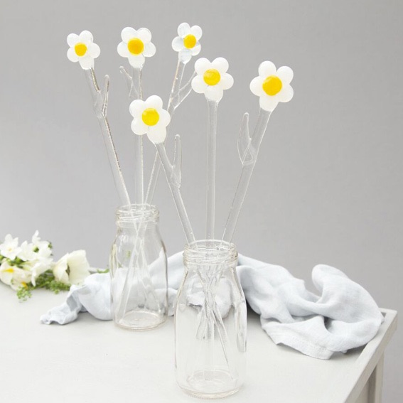 Shop all glass flowers and mini bottles