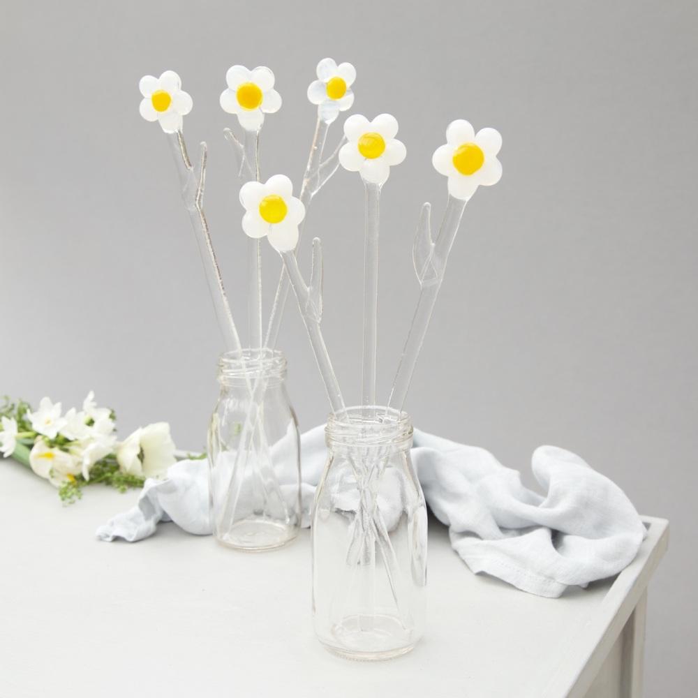 Glass Daisies.