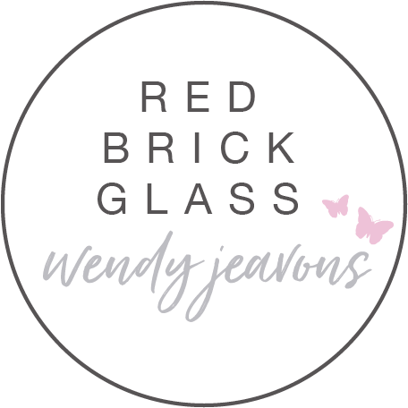 Red Brick glass by Wendy Jeavons  - fused glass kits, gifts and workshops