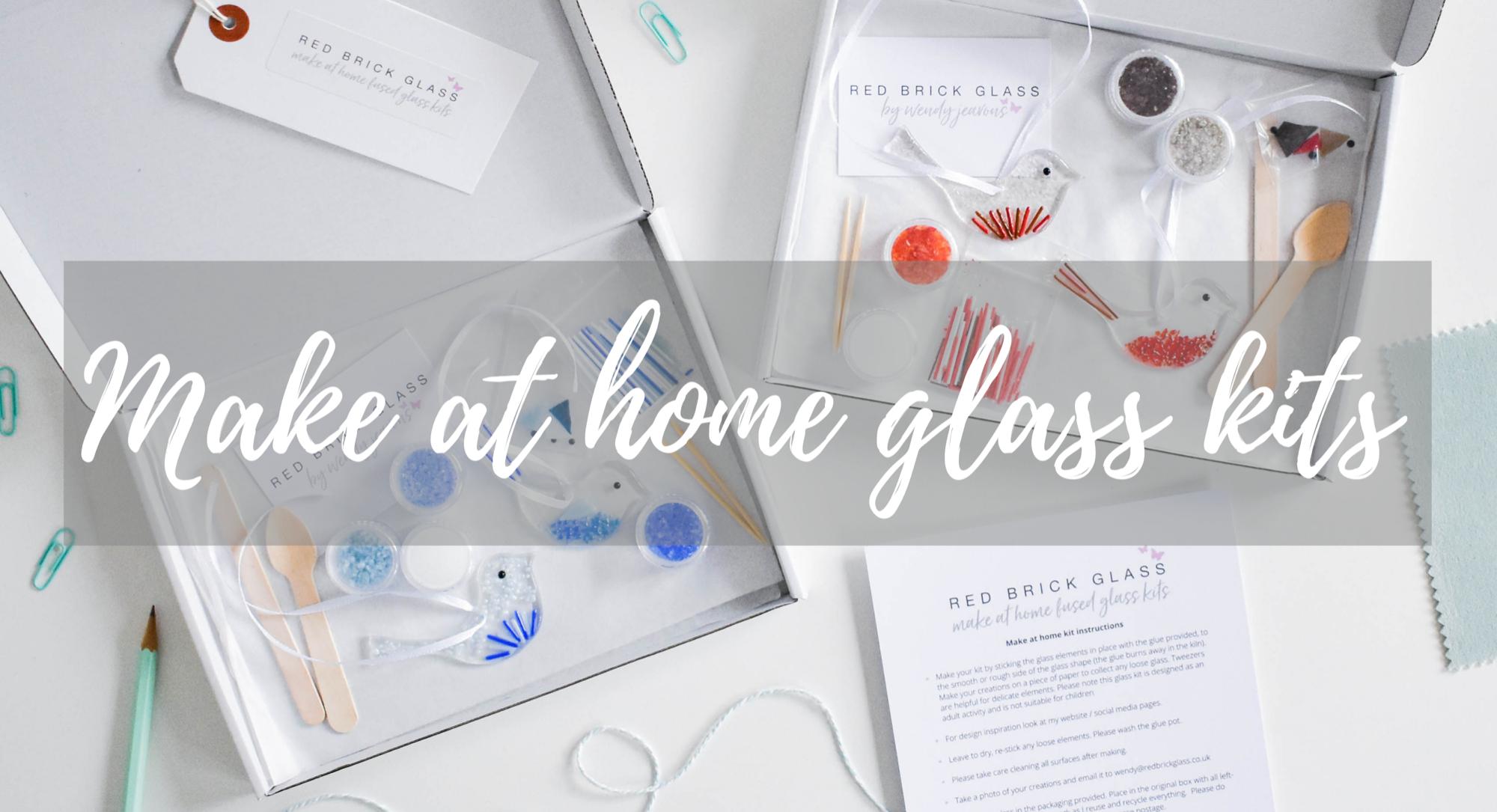 Make at home glass kits