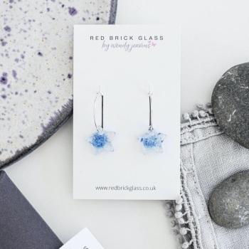 Ocean Star hoop earrings