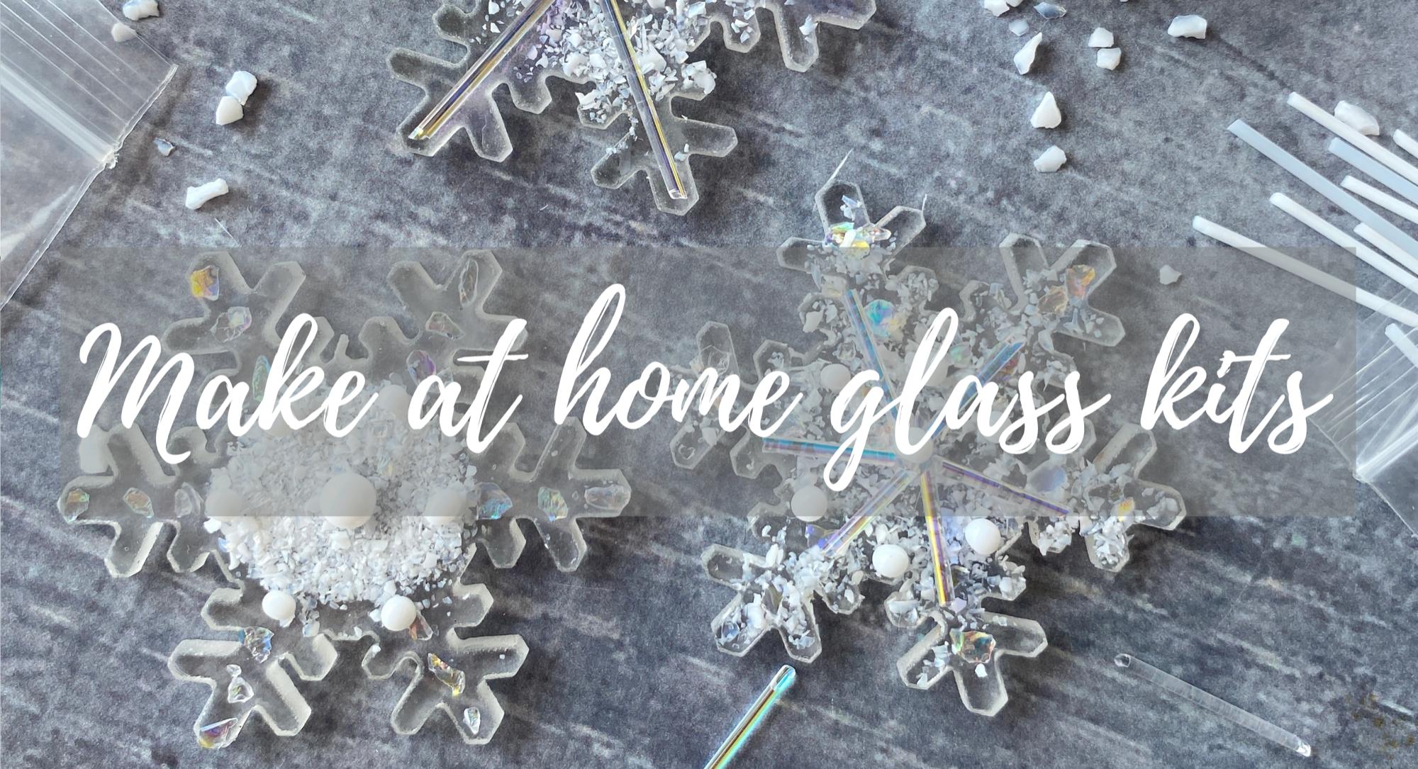 Christmas  Make at home glass kits