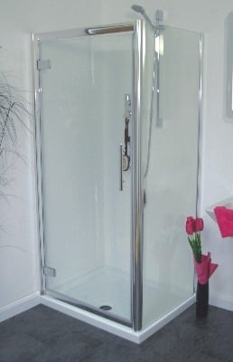 Serie Uno 900mm Hinge Shower Door