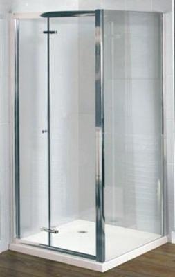 DLX 900mm Bi-fold Shower Door