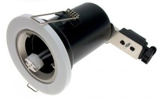 MR16 Fire Rated Downlight Fitting - 3 colour options available