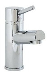 Ebre Eco Mono Basin Mixer with Clicker Waste
