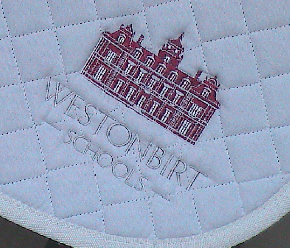Saddle Cloth with custom logo