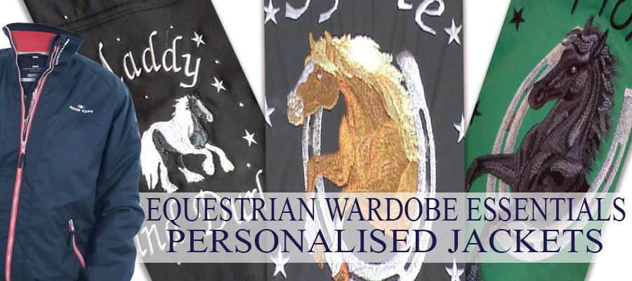 Personalised Equestrian Jackets