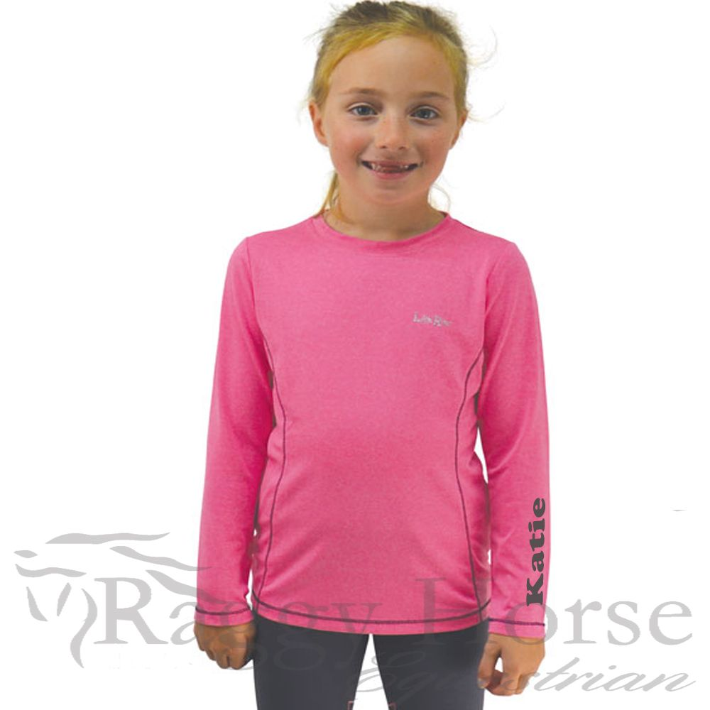Little Rider Girls Personalised Baselayer.  Available Soon