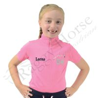 Show Pony Love Children's Personalised Show Shirt inc personalisation