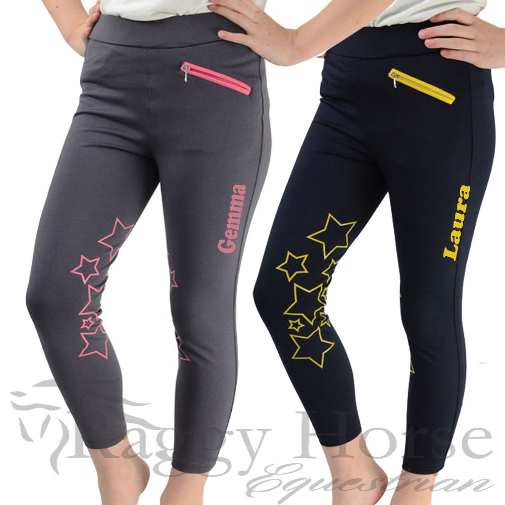 New - Kids Personalised Stella Riding Tights
