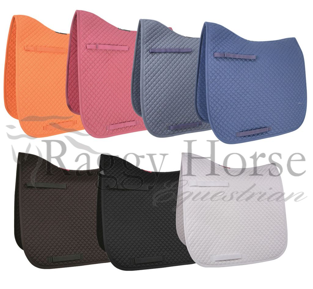 Personalised HyWither Competition Dressage Pad inc embroidery. 8 colours