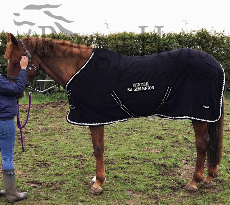 Elite Fleece Rug embroidered to the centre