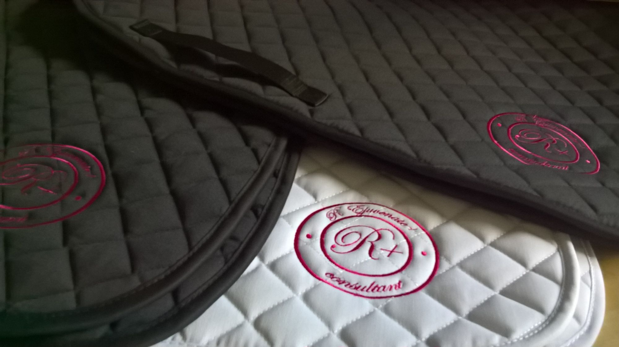 Saddle Cloths with custom logo