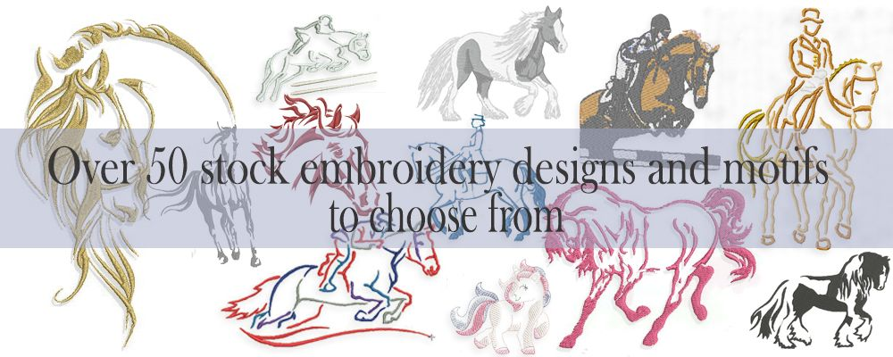 Stock Embroidery Designs and Motifs
