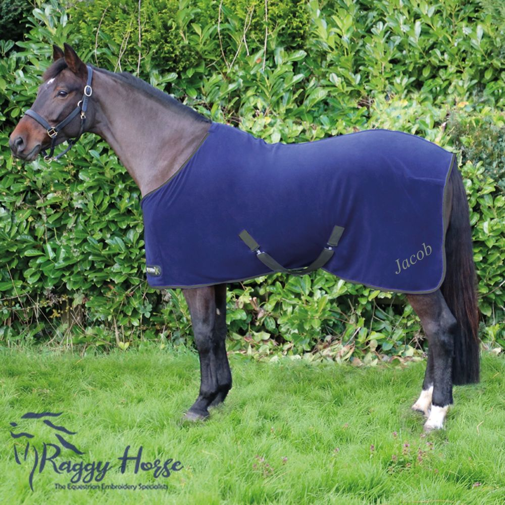 Hy Signature StormX Personalised Fleece Rug inc embroidery.