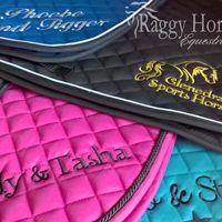 <!--002-->Personalised Saddle Cloths