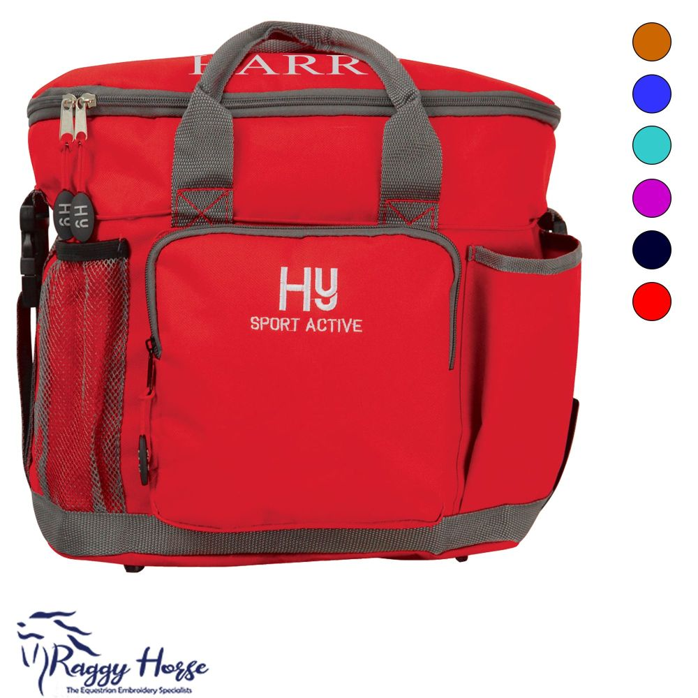 HySport Active Personalised Grooming Bag inc embroidery. 7 colours .