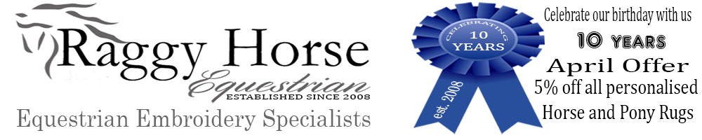 www.raggyhorse.co.uk, site logo.