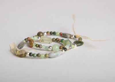 Silver Bright Bracelet - Greener Grass