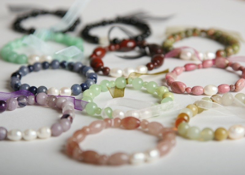 a1 gpc glamour & pearls collection bracelets