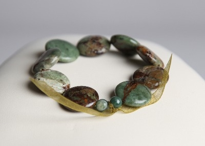 LouMae Loves Statement Bracelets - Opal Greens for a Perfect Season