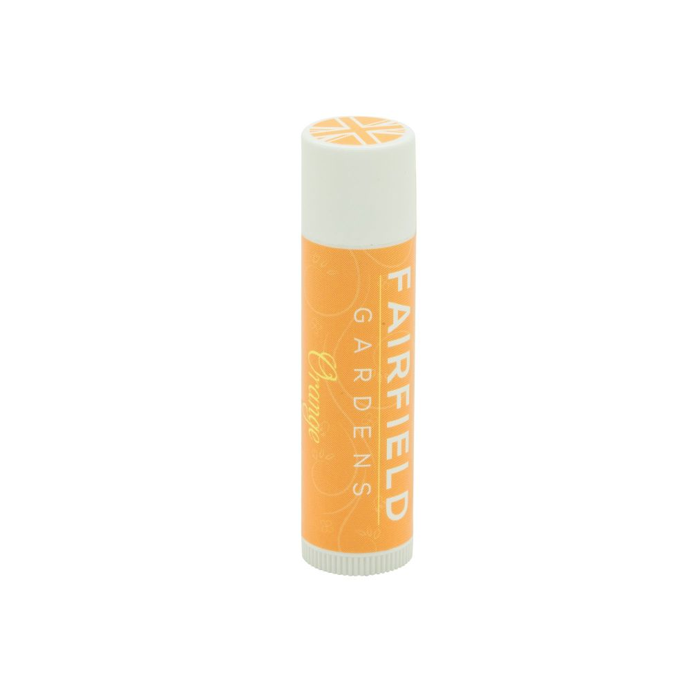 Orange Beeswax Lip Balm Tube