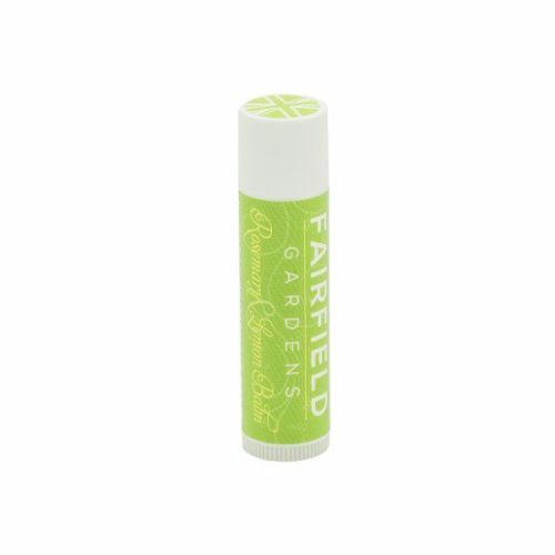 <!-- 004 -->Rosemary & Lemon Balm Beeswax Lip Balm
