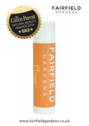 Orange Lip Balm Natural Beauty Awards 2014 GOLD