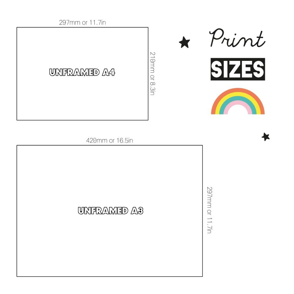 Art Print Sizes Paper Joy Landscape-01