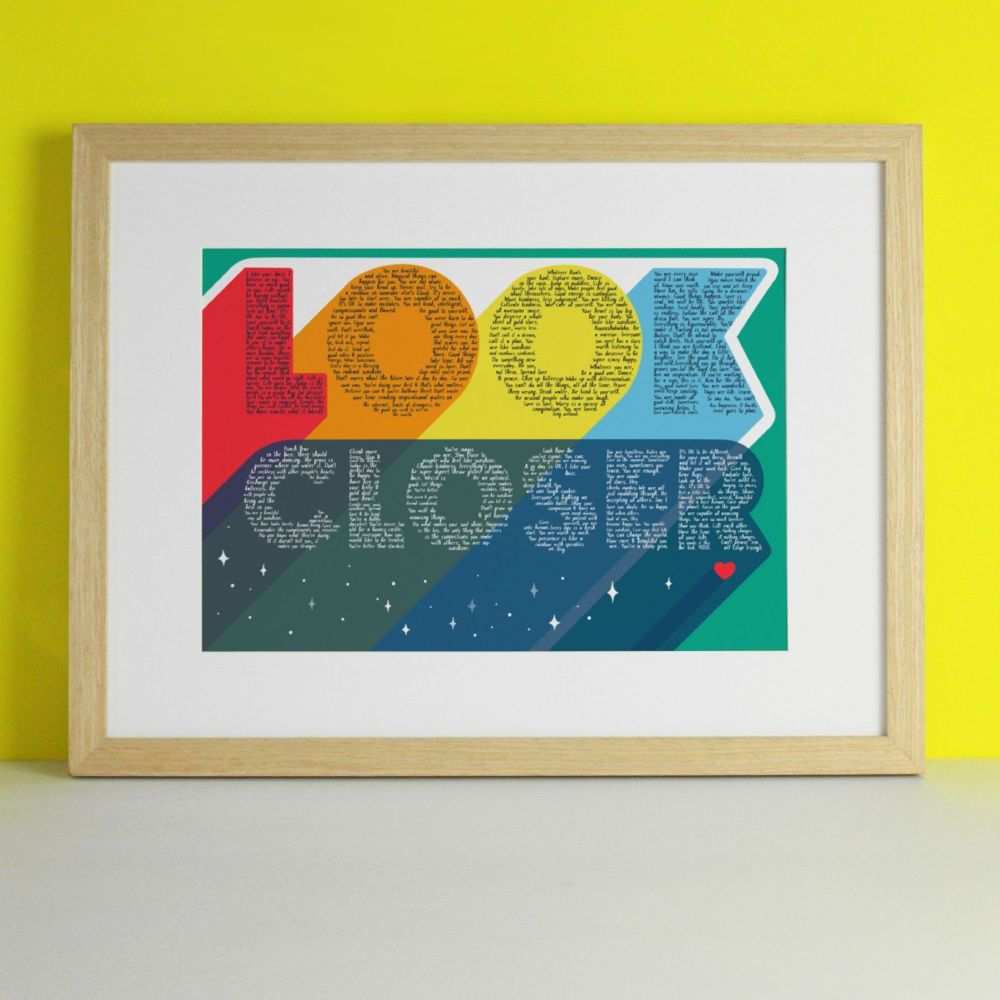 Look Closer Art Print