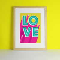 Love Letter Sign 'Doctors Without Borders' Art Print