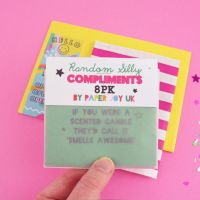Random Compliment Cards Set of 8