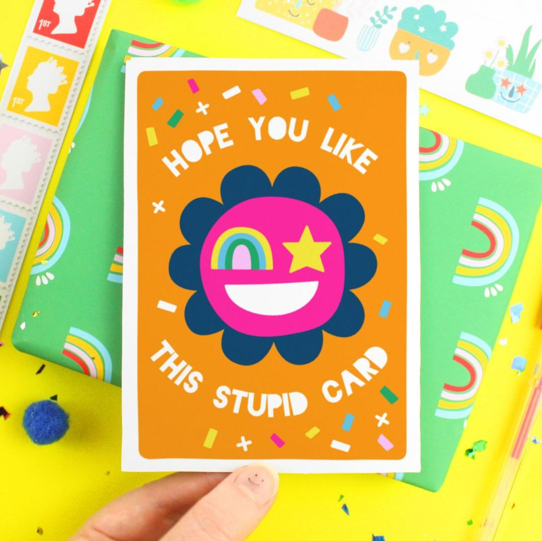 Stupid Card Generic Greeting Card