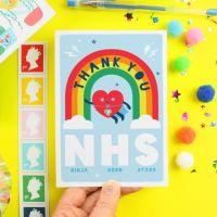 Thank You NHS Greeting Card